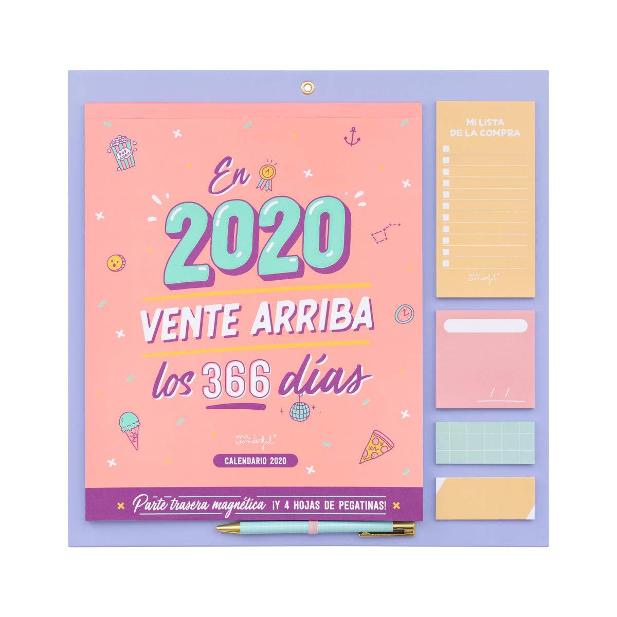 Amazon.com : Wall Calendar 2020 - In 2020, Sent Up 366 Days ...
