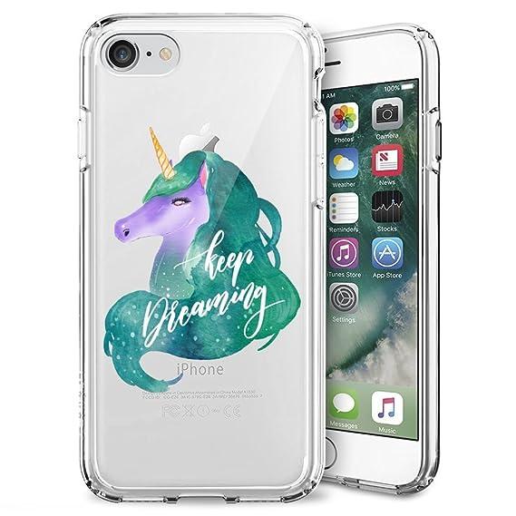 75e6c8f66a9ed Amazon.com  iPhone 7 iPhone 8 Case Anti-Scratch   Protective Cover ...