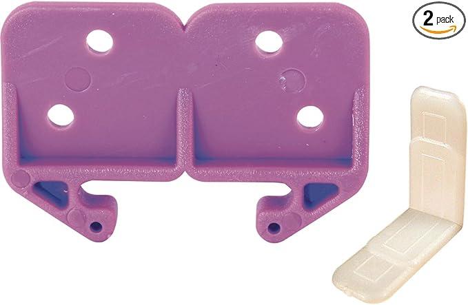 PRIME-LINE R 7147 Drawer Guide Roller,Plastic,White,PK2