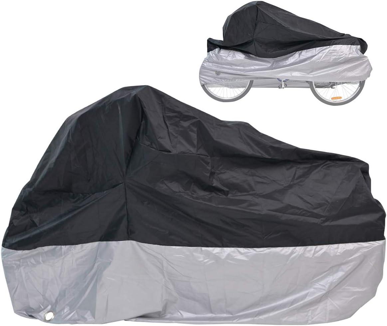Maveek Bicycle Cover for 3 Bike Waterproof Cycle Protection UV Rain 3-MIDSIL