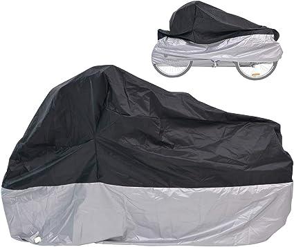 Adult Tricycle Cover Bike Waterproof Covers Outdoor Bicycle Motorcycle Storage