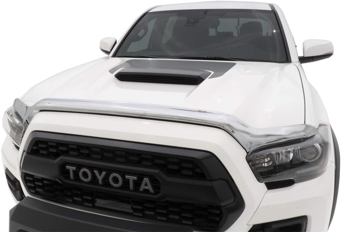 Auto Ventshade 680681 Chrome Hood Shield for 2016-2018 Toyota Tacoma