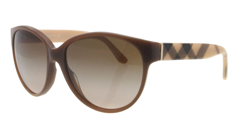 9e2895ec8284 Amazon.com  Burberry Sunglasses BE 4088M BROWN 3237 13 BE4088  Burberry   Shoes