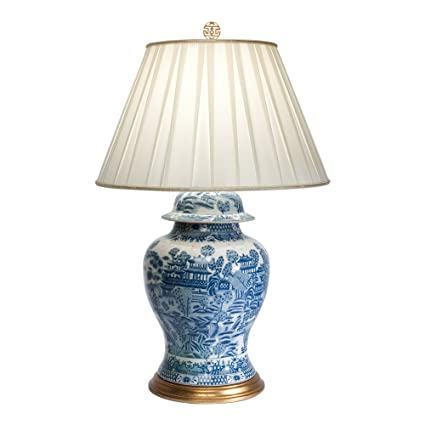 Amazon Com Ethan Allen Classic Ginger Jar Table Lamp Home