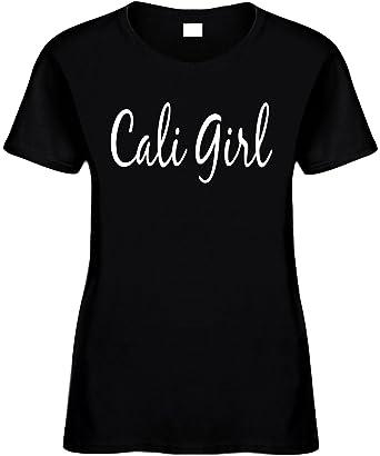 f8c9d81c3dd Signature Depot Women's Size S Funny T-Shirt (CALI GIRL (CALIFORNIA GIRL)