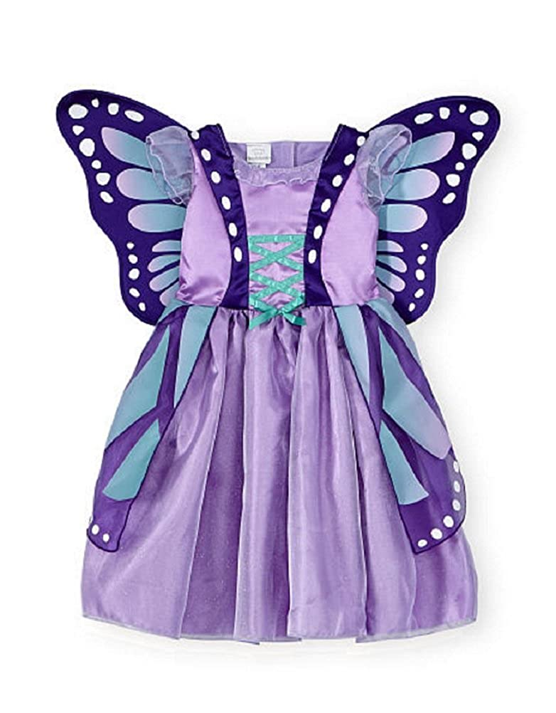 ae2ff8658743 Amazon.com: Koala Kids Baby & Toddler Purple Butterfly Costume Dress Gown  (12/18 Months): Clothing