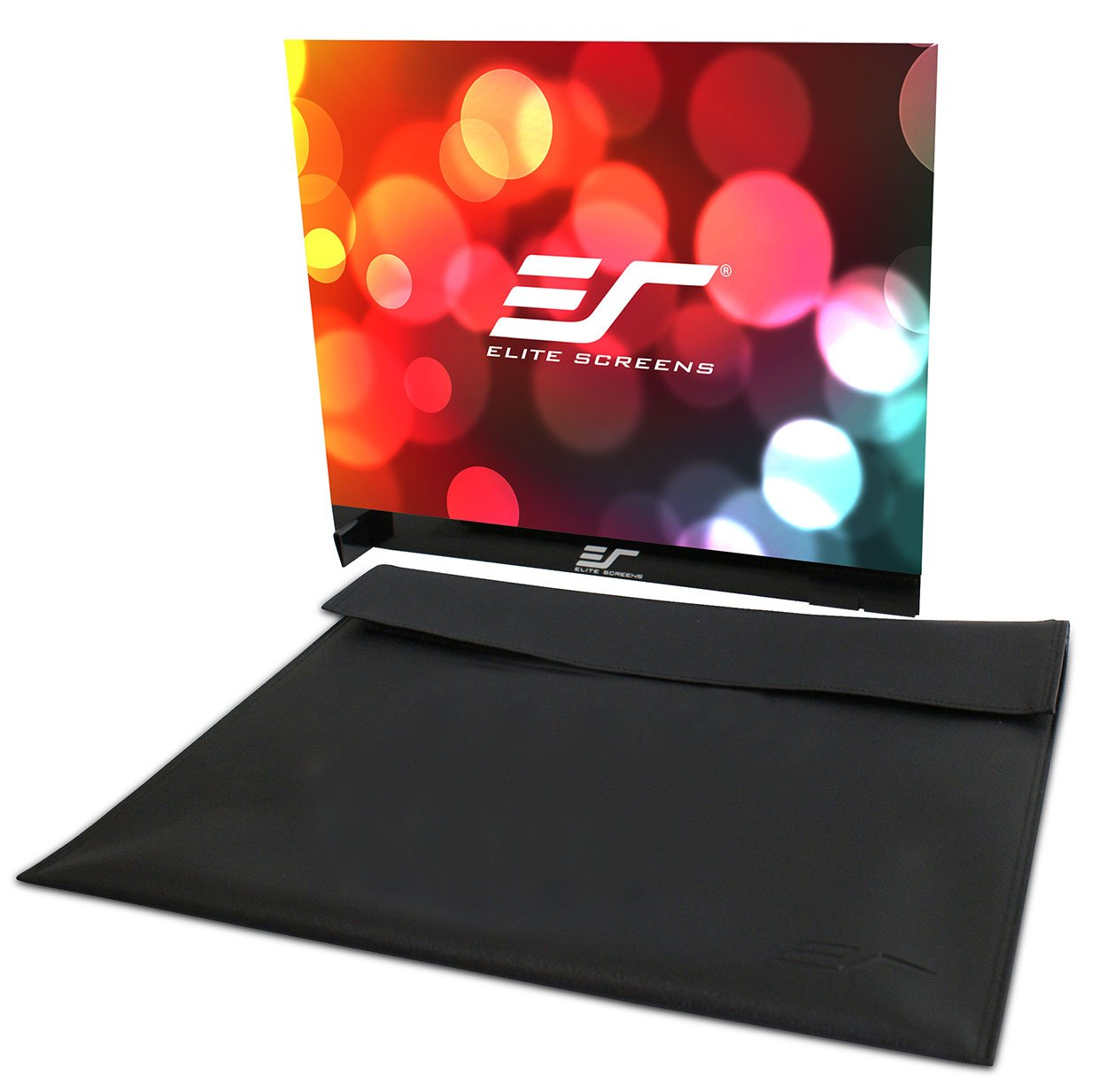 Elite Screens Pico Sport Series, 18-Inch Diagonal 4:3, Dual-Side Portable Tabletop Projection Screen, Model: PS18WG4