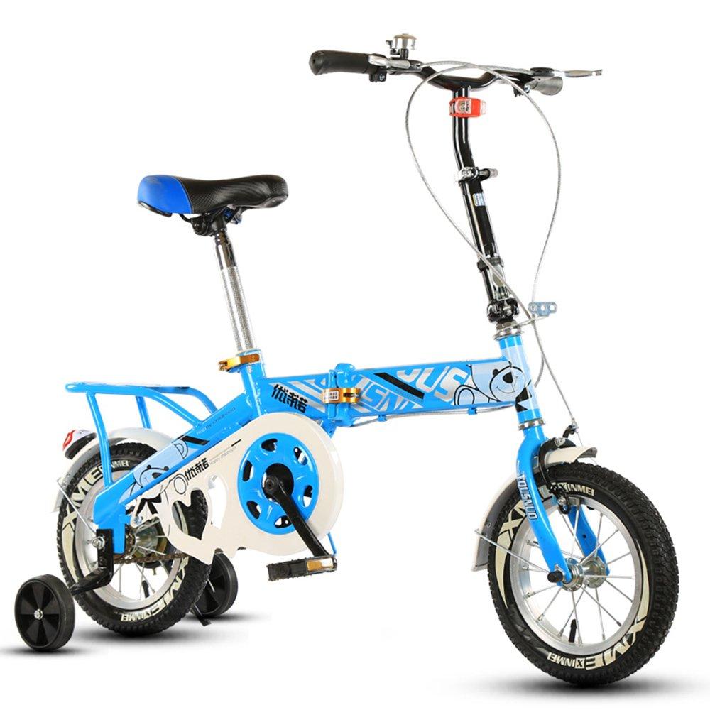 子供の折りたたみ自転車、12-14-16-20インチの男子学生自転車6-8-10-12歳の乳母車 ( 色 : Blue-B , サイズ さいず : 20 inch ) B07CNKS475 20 inch|Blue-B Blue-B 20 inch