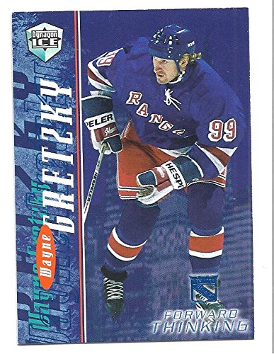 WAYNE GRETZKY 1998-99 Pacific Dynagon Ice Forward Thinking #13 Card New York Rangers ()