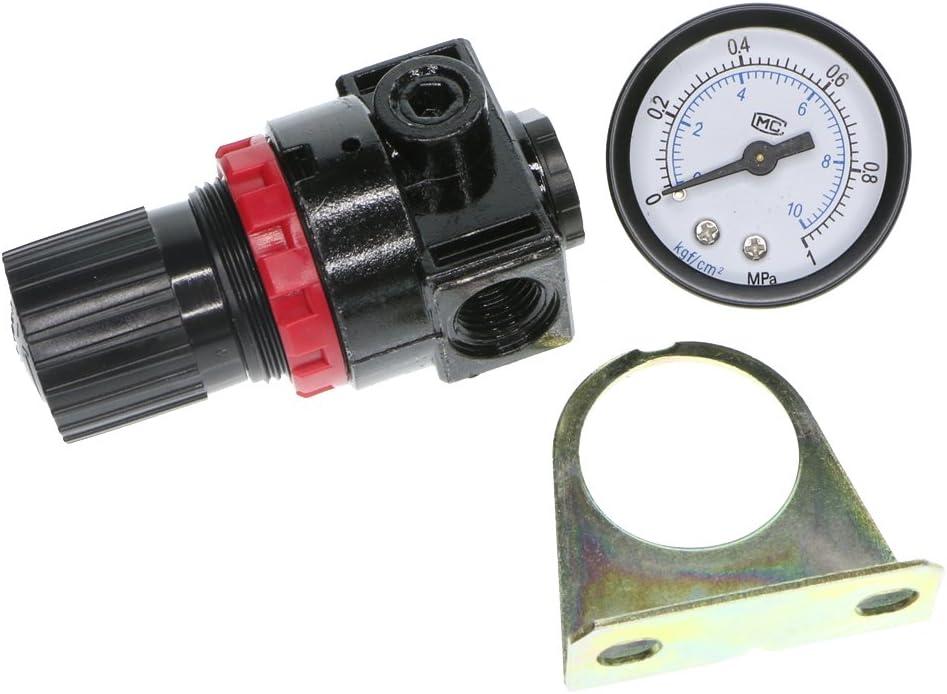 dailymall Druckluft Manometer Druckminderer Druckluftventil Kompressor