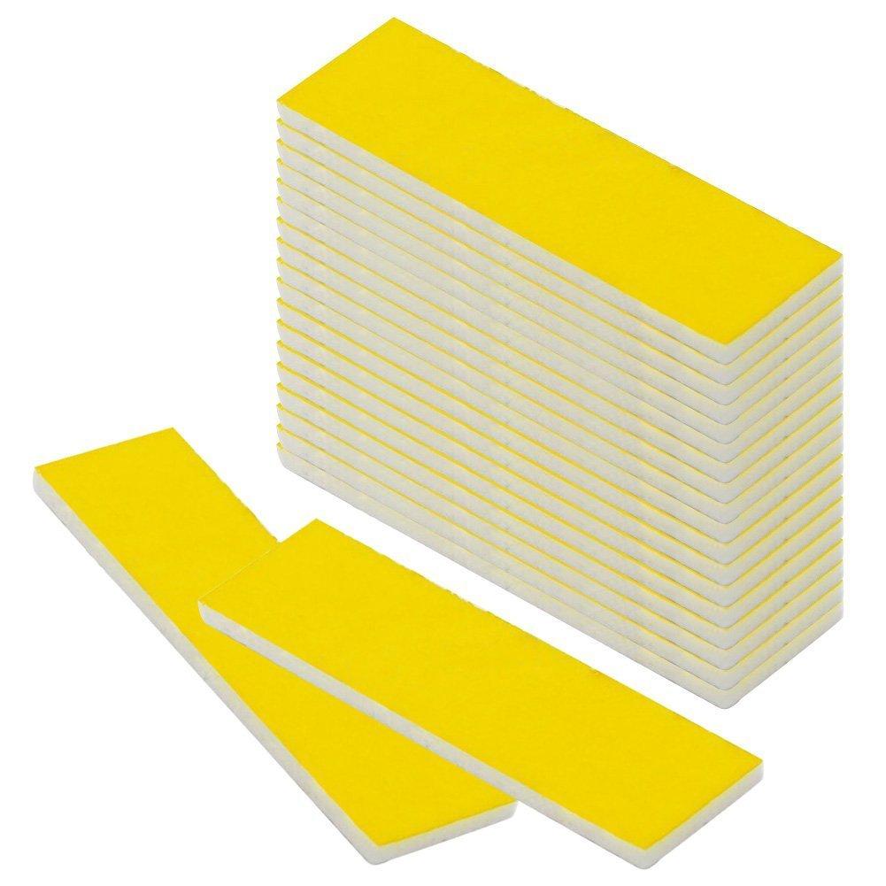 cctree 15pcs 3d impresora calefacción bloque algodón con cinta ...