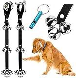 BLUETREE Dog Doorbells Premium Quality Training Potty Great Dog Bells Adjustable Door Bell Dog Bells for Potty Training…