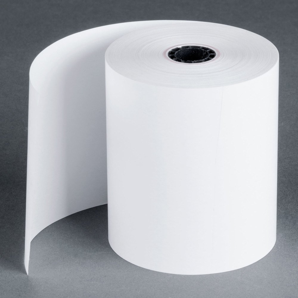 SinglePly Thermal Cash Register/POS Rolls 31/8 x 230 ft. White 50/Ctn BPA Free Made in USA From BuyRegisterRolls