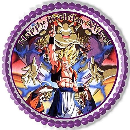 Dragon Ball Z comestible tarta de cumpleaños o Cupcake ...