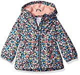 Carter's Baby Girls Midweight Fleece-Lined Jacket, Navy Floral, 24M