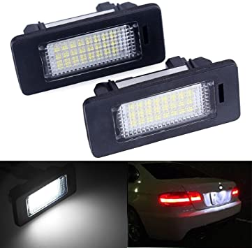1x Fits BMW 3 Series E30 Bright Xenon White LED Number Plate Upgrade Light Bulb