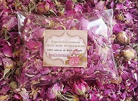Pétalos De Rosa 100 Natural Rosa De Bulgaria Flores Secas