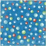 Karen Foster Design Scrapbooking Paper, 25 Sheets, Putt-Putt Golf Balls, 12 x 12''
