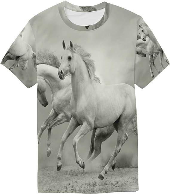 DEZIRO - Camiseta de Manga Corta para Hombre, diseño de ...