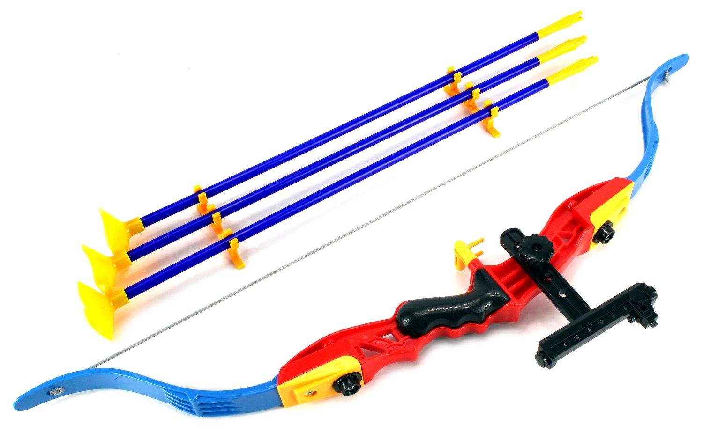 World Champion Archer Toy Bow and Arrow Dart Play Set w/ Suction Dart Arrows