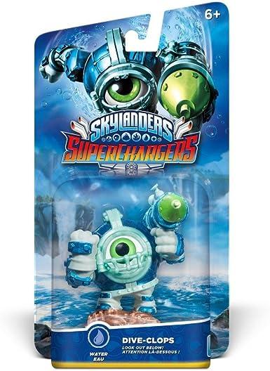 Skylanders SuperChargers - Figura Dive-Clops (Driver): Amazon.es: Videojuegos