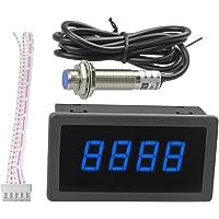 Medidor de velocidad de 4 dígitos del RPM