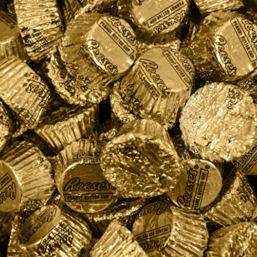 Gold Candy Reese's Peanut Butter Cups 1lb ()