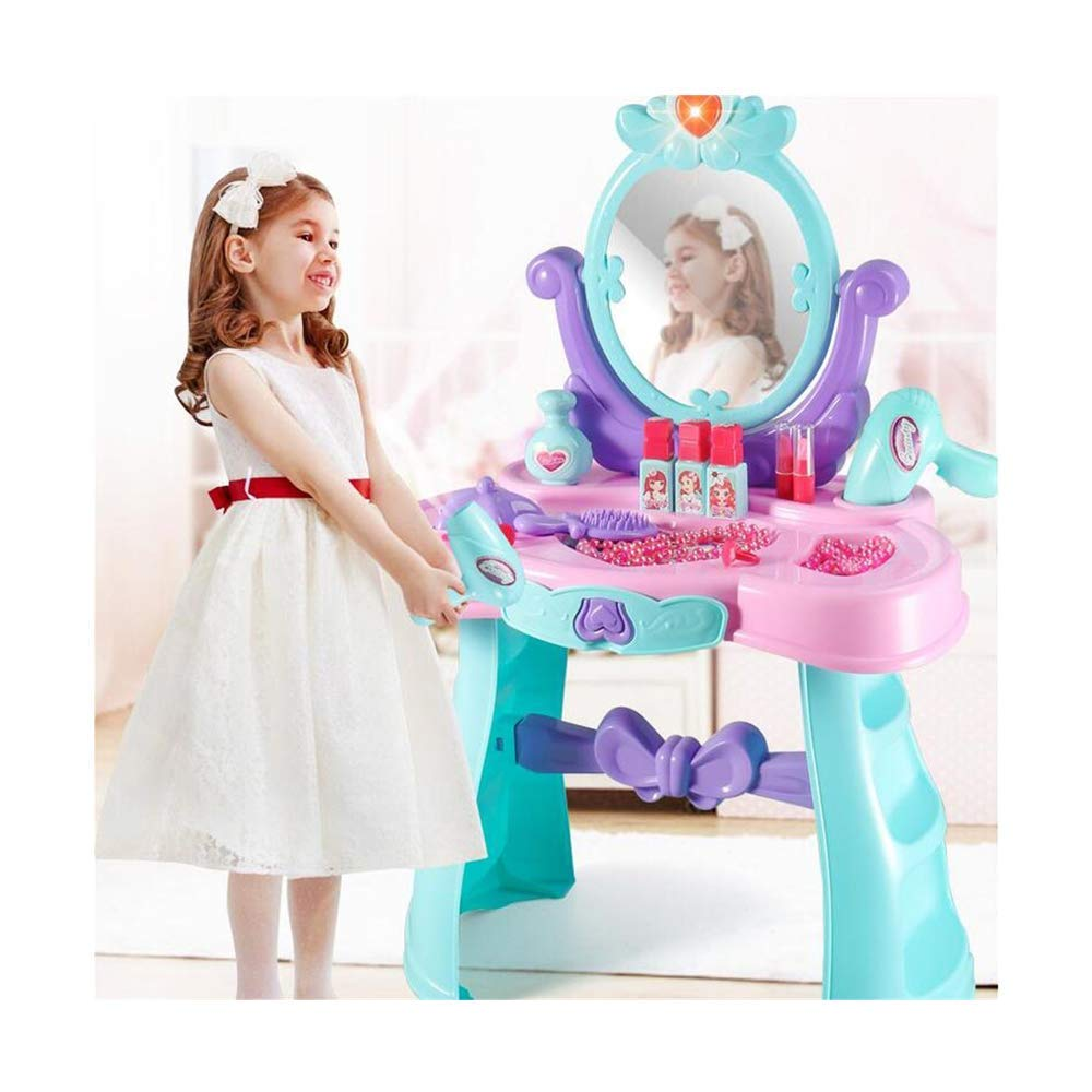 CNW Toys Children's Pretend Beauty Play Battery Operated Pretty Beauty Vanity Playset Beauty Toy