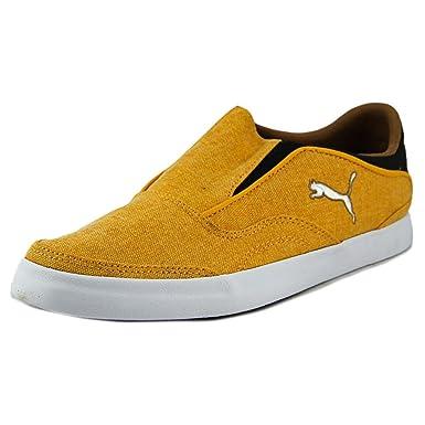 76263d98628b Puma Funist Slider Slip On Men US 7.5 Orange Sneakers  Amazon.co.uk  Shoes    Bags