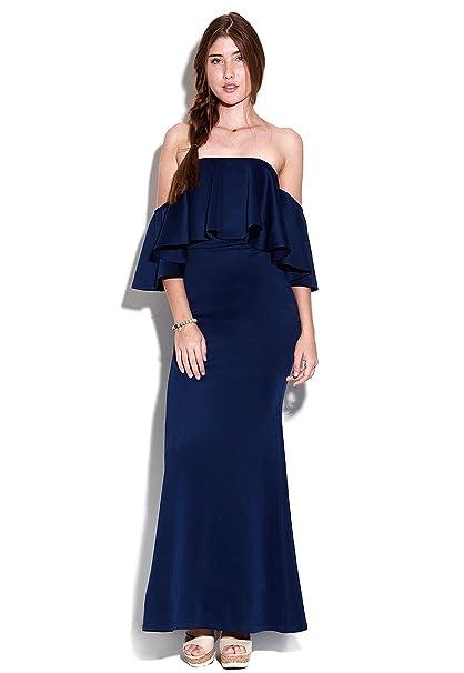 Accesorios para un vestido azul oscuro