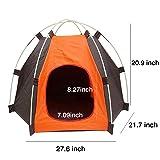 RuiXiang 1pcs Outdoor Pet Tent, Small Pet Tent