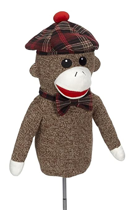 Amazon.com: Creative Covers para el golf Sock Monkey Head ...
