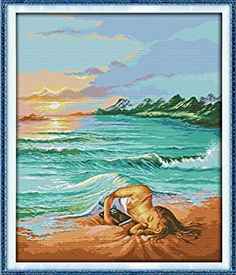 figure The daughter of the sea Happy Forever Cross Stitch