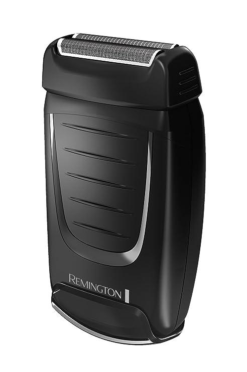 Remington TF70 - Afeitadora eléctrica de viaje (doble lámina), color negro