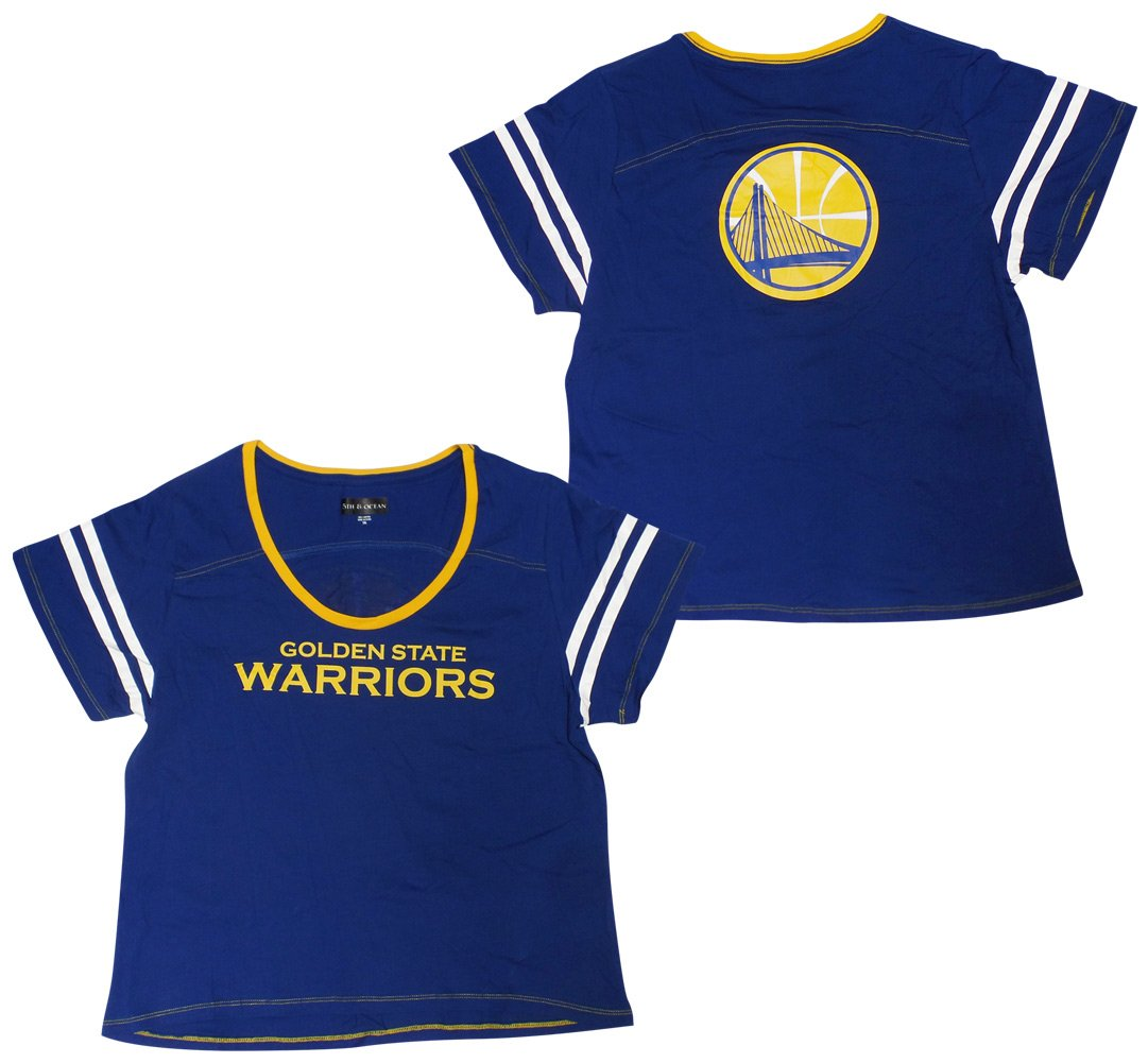 free shipping d6e8d ff1f7 Golden State Warriors Women's Baby Jersey S/S Scoop Neck ...