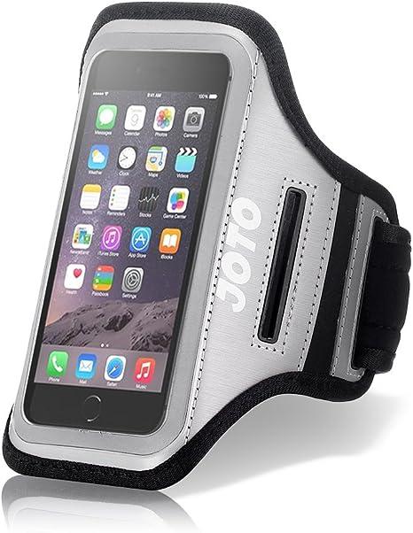 Brazalete Smartphone 5.5 Inch, JOTO deporte ejercicio brazo banda Funda para 5.5 – 5.8 pulgadas teléfonos móviles