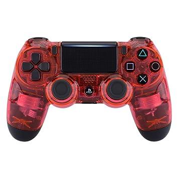 eXtremeRate Carcasa PS4 Funda Delantera Protectora de la Placa Frontal Cubierta reemplazable para Mando de Playstation 4 PS4 Slim Pro (CUH-ZCT2 ...