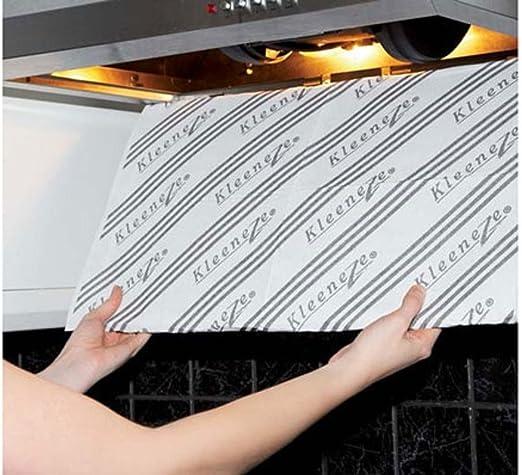 Color cambio cocina horno filtros de ventilador Extractor de cocina estufa cocina campana extractora: Amazon.es: Hogar