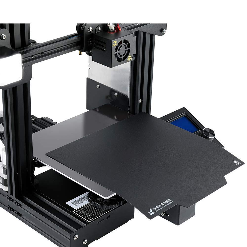 235x235 Build Surface Plate Magnetic Pei Sheet for Ender 3 pro 3D Printer Anti-Warping Detachable Eewolf