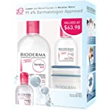 Bioderma Sensibio H2O Micellaire Micellar Value Pack (3 Products) Makeup Remover