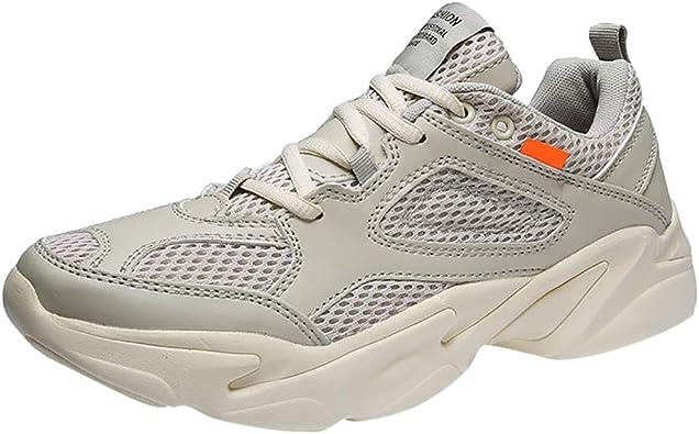 SUCES - Zapatillas deportivas para hombre, ultraligeras y transpirables, para correr, trabajo, senderismo, entrenamiento, exteriores: Amazon.es: Zapatos y complementos