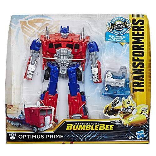 Transformers Bumblebee Movie Toys, Energon Igniters Nitro Series Optimus Prime Action Figure Included Core Powers Driving Action Toys for Kids 6 and Up ()