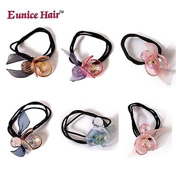 Women Elastic Hair Rope Pearl Stretchy Hair Band Hair Holder Hair Accessories
