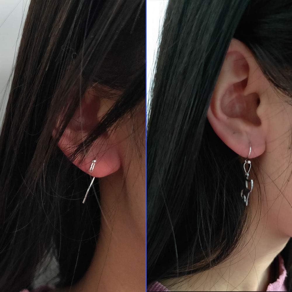 1 Earring Hooks 925 Sterling Silver Earring Fish Hooks for Jewelry Making DIY