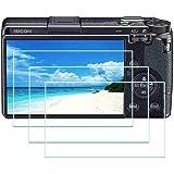 GR III Skärmskydd för Ricoh GR III digitalkamera, ULBTER 0,3 mm ultrakärt 9H hårdhet härdat glas flimkant till kantskydd…