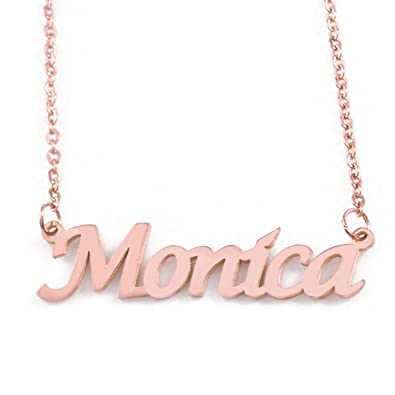dec0b44cea9e Kigu Monica - Collar con Nombre Personalizado