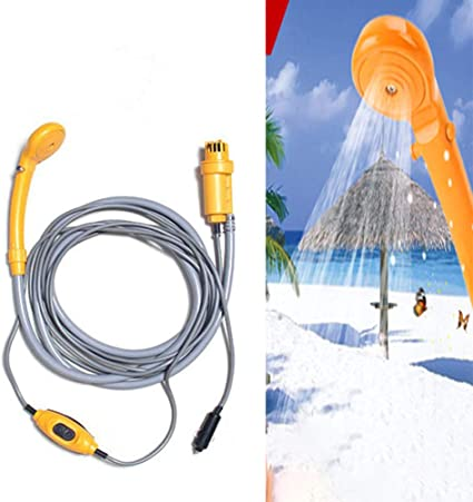 Borstu Camping Shower 12V Coche Bolsa de Ducha eléctrica Set ...