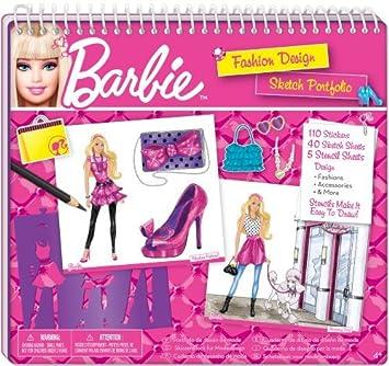 barbie cuaderno de diseo de moda