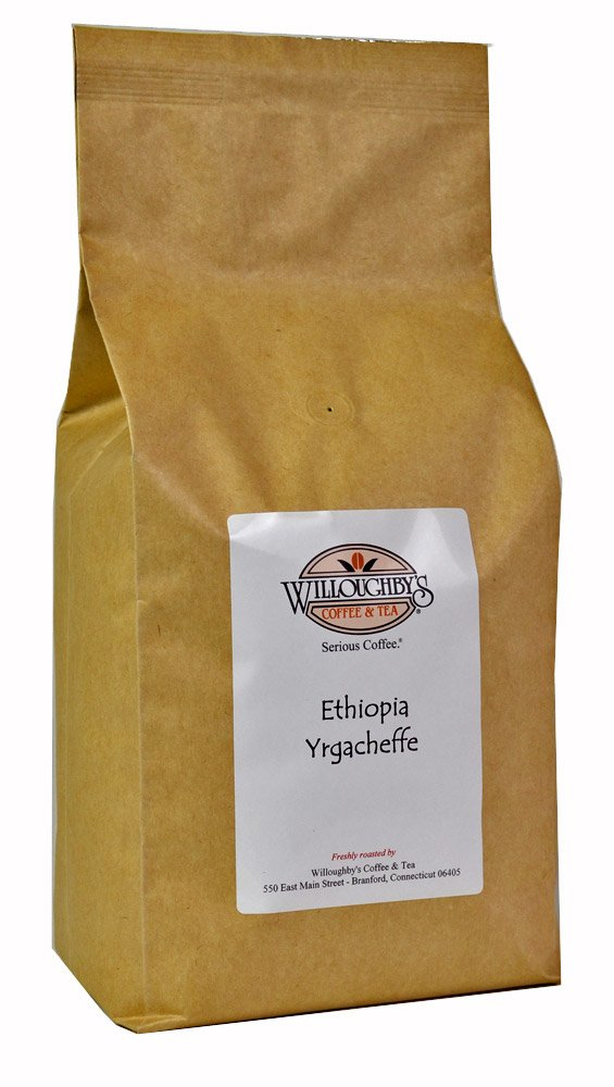 Ethiopia Yrgacheffe Grade 1-5lb - Ground by Willoughby's Coffee & Tea