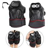 brrnoo Walfou Knee Wrap Massager with Heated and Vibration Electric Health Care Device (Black)